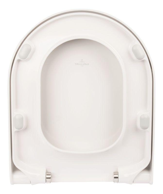 Villeroy & Boch Subway 2.0 WC-Sitz weiß mit Absenkautomatik und Quick Release 9M68S101