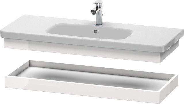 Duravit DuraStyle Ablageboard B:113xH:8,4xT:44,8 cm weiß hochglanz DS618302222