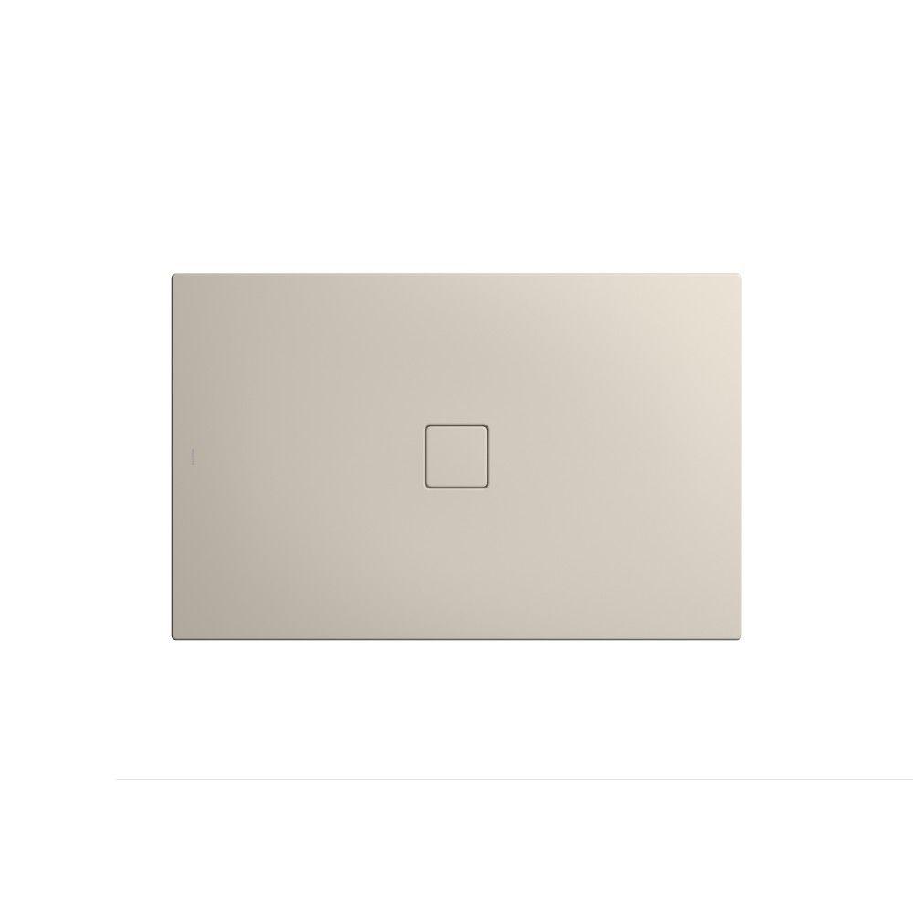 Kaldewei CONOFLAT Rechteck-Duschwanne 795-1 L:90xB:140cm warm grey 10 mit Perl-Effekt 466500012668