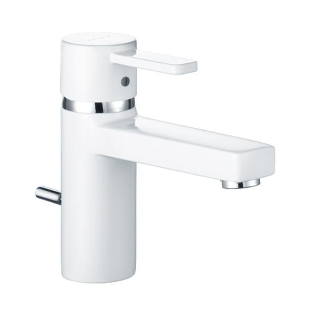 KLUDI ZENTA Waschtisch-Einhandmischer DN 10 hohe Ausführung chrom/weiß 382609175