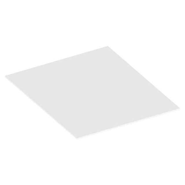 KEUCO Edition 90 Abdeckplatte passend zum Sideboard 39024 402 x 6 x 486 mm Glas weiß satiniert 39024279000