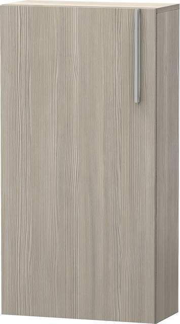 Duravit Vero Halbhochschrank B:50xH:96xT:24cm 1 Tür Türanschlag links pine silver VE1155L3131