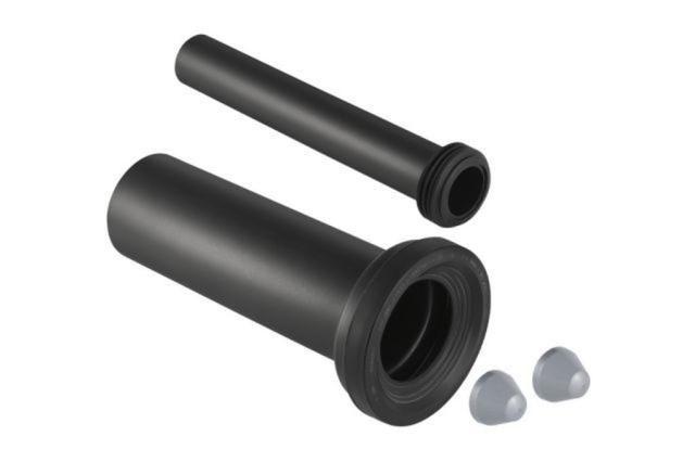Geberit Polyethylen Anschlussgarnitur für Wand-WC Ø 90 mm L:300mm 152441461