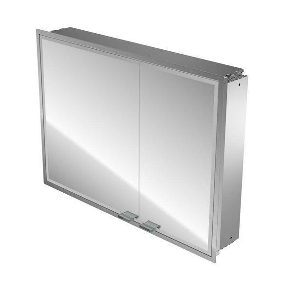 Emco Asis Prestige Lichtspiegelschrank ohne Radio 989706051, Unterputz, Breite 1015 mm, breite Tür links