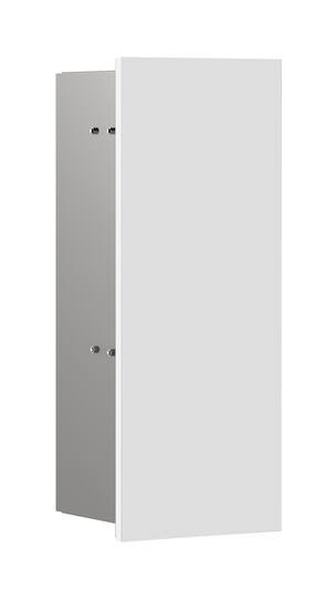 Emco Asis Pure Bürstengarnitur-Modul H:43,5xB:17xT:14,85cm Unterputz Anschlag links weiß matt 975551304