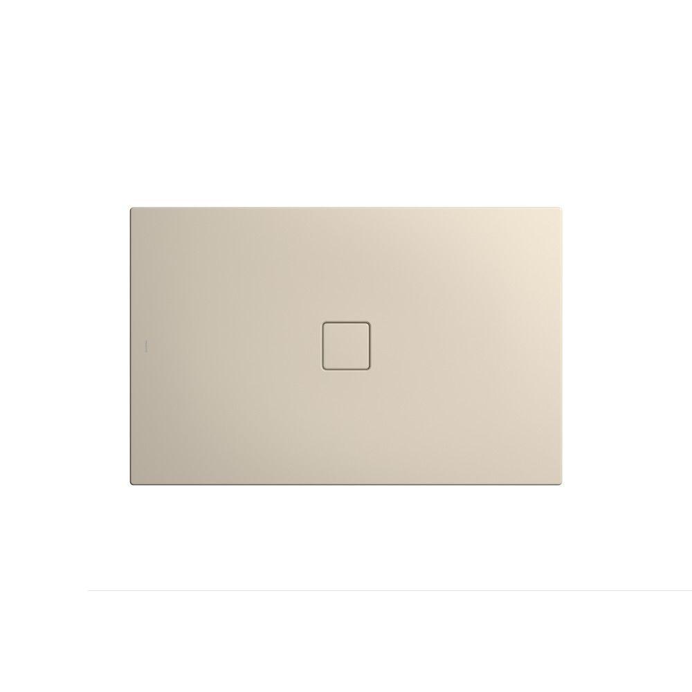 Kaldewei CONOFLAT Rechteck-Duschwanne 795-1 L:90xB:140cm warm beige 20 mit Perl-Effekt 466500012661