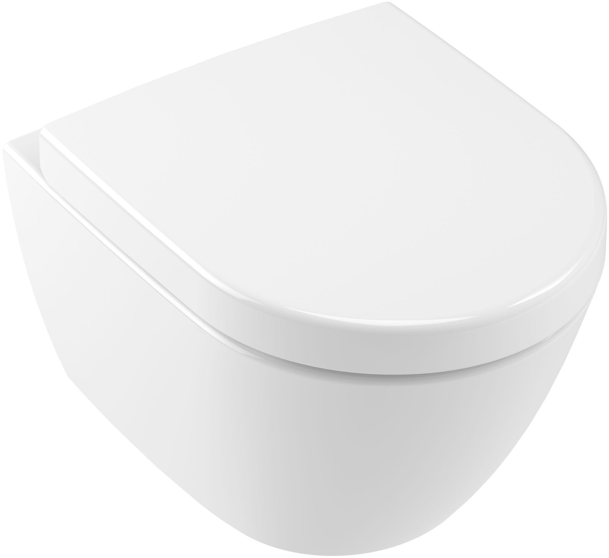 Villeroy & Boch Subway 2.0 Compact Tiefspül-Wand-WC L:48xB:35,5cm Star White mit Ceramicplus 560610R2