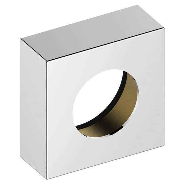 Keuco IXMO Verlängerungs-Rosette Einhebelmischer eckig H:25 mm Aluminium-finish 59551170282