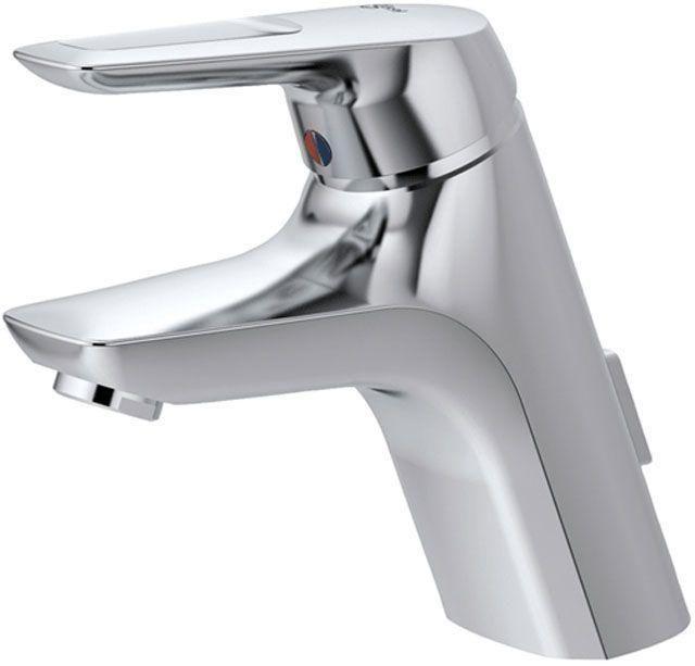 Ideal Standard Ceramix Einhebel-Waschtischarmatur mit Ablaufgarnitur chrom A5653AA