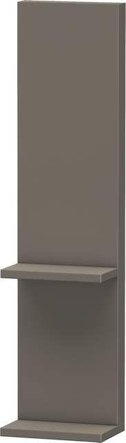 Duravit Vero Anbauelement für Spiegelschrank B:20xH:14,2xT:80cm flannel grey hochglanz VE740008989