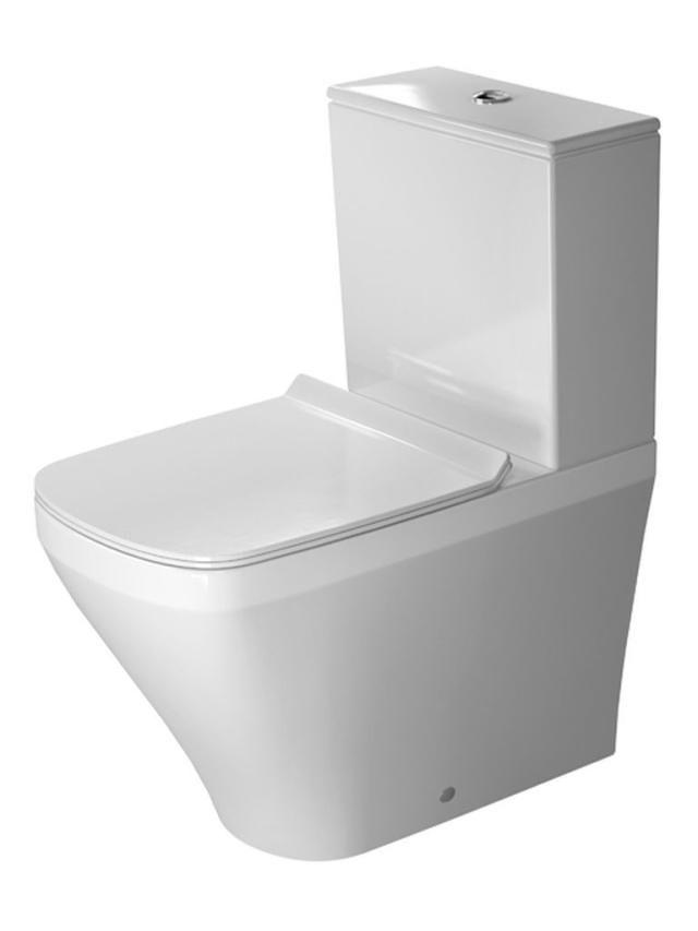 Duravit DuraStyle Tiefspül-Stand-WC für Aufsatzspülkasten Vario Abgang L:63xB:37xH:40cm weiß mit Wondergliss 21550900001