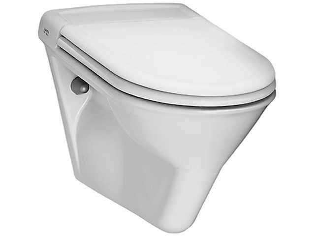 Laufen Vienna Flachspül-Wand-WC L:57xB:36cm weiß H8204700000001