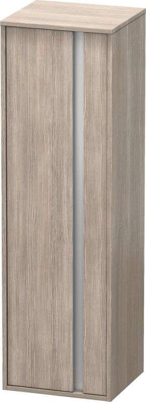 Duravit Ketho Hochschrank B:40xH:132xT:36cm 1 Tür Türanschlag links pine silver KT1257L3131