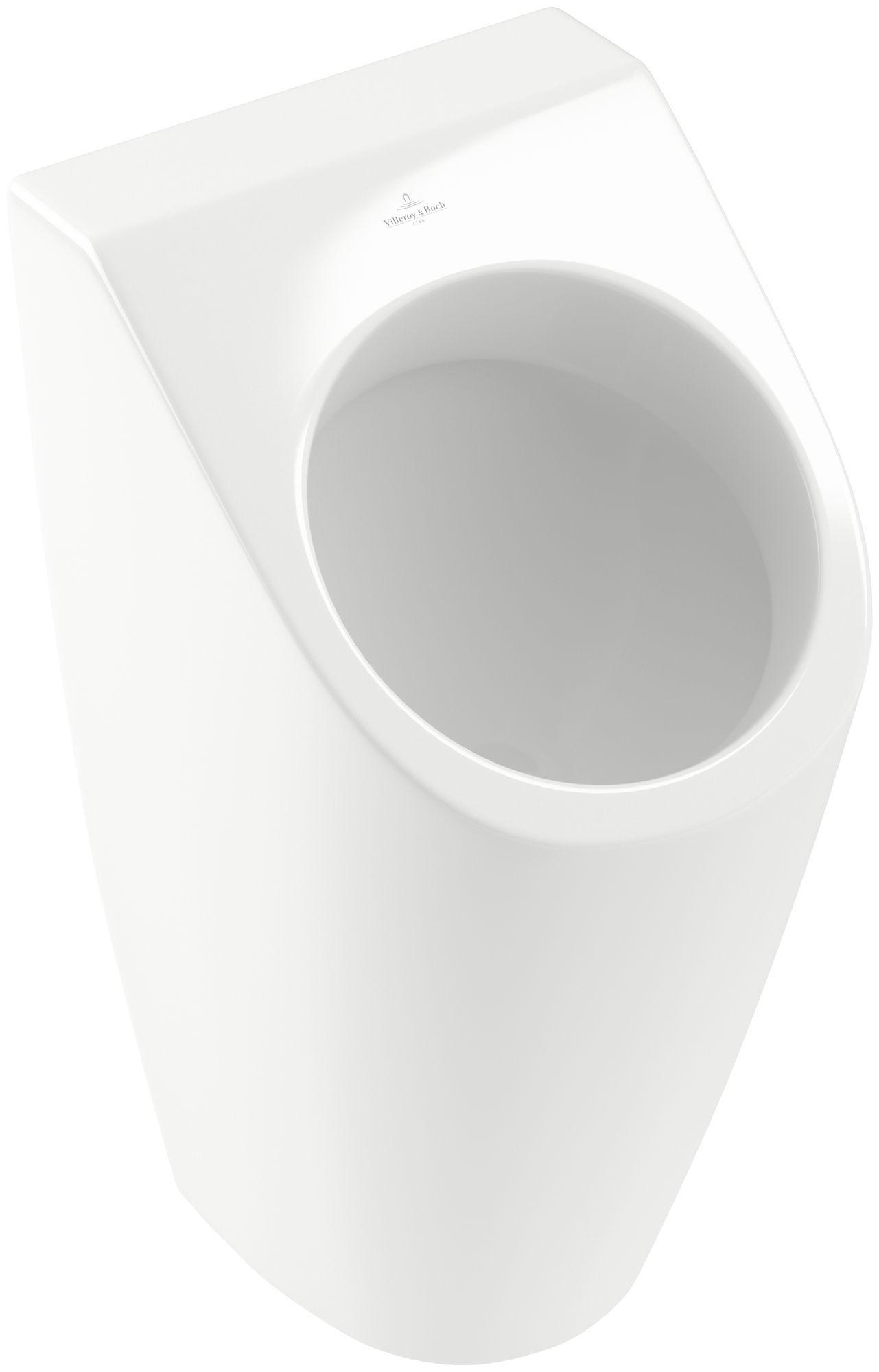 Villeroy & Boch Architectura Urinal ohne Deckel mit Zielobjekt B:32,5xH:68xT:35,5 cm weiß mit CeramicPlus 558605R1