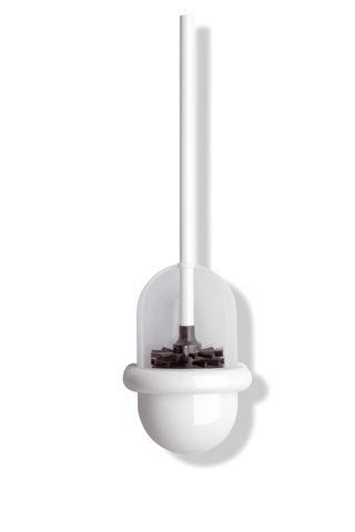 HEWI WC-Bürstengarnitur Serie 477 matt weiß Tiefschwarz 477.20.10005 90