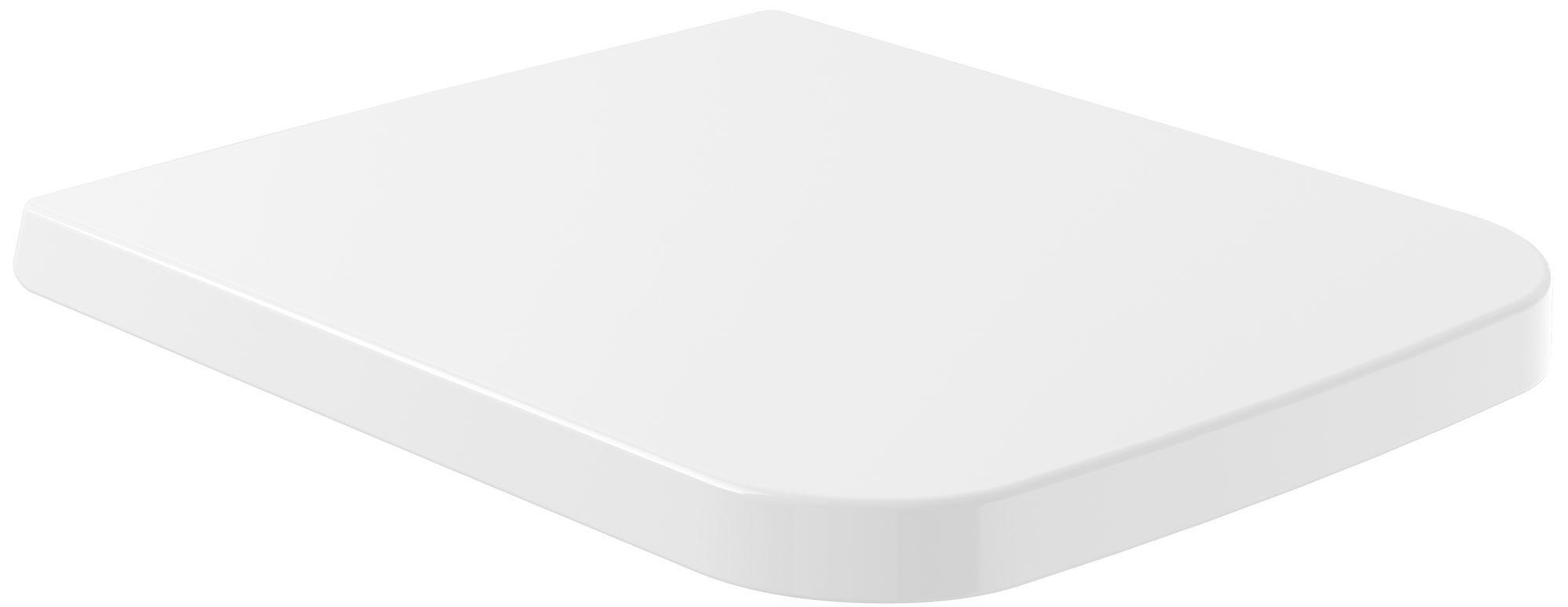 Villeroy & Boch Venticello WC-Sitz mit Absenkautomatik weiß 8M22S101