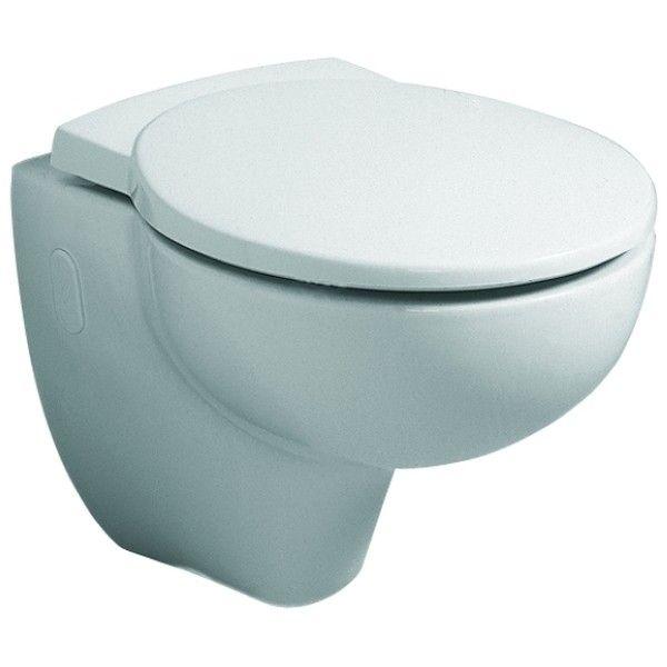 Geberit Keramag Joly WC-Sitz mit Absenkautomatik weiß, Scharniere Messing verchromt  571005000