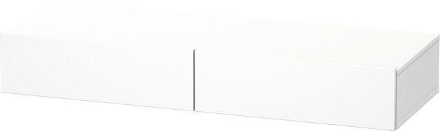 Duravit DuraStyle Schubkastenablage 440x1200x150 2 Schubkästen weiß matt/ weiß matt DS827101818