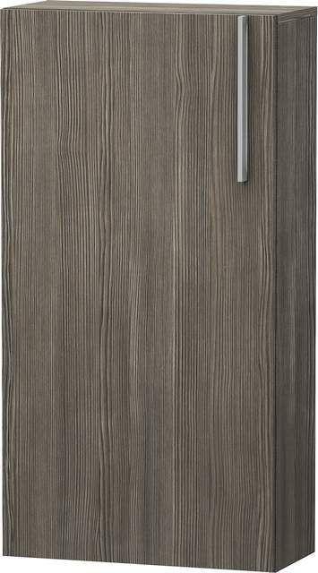 Duravit Vero Halbhochschrank B:50xH:96xT:24cm 1 Tür Türanschlag links pine terra VE1155L5151