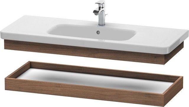 Duravit DuraStyle Ablageboard B:113xH:8,4xT:44,8 cm nussbaum natur DS618307979