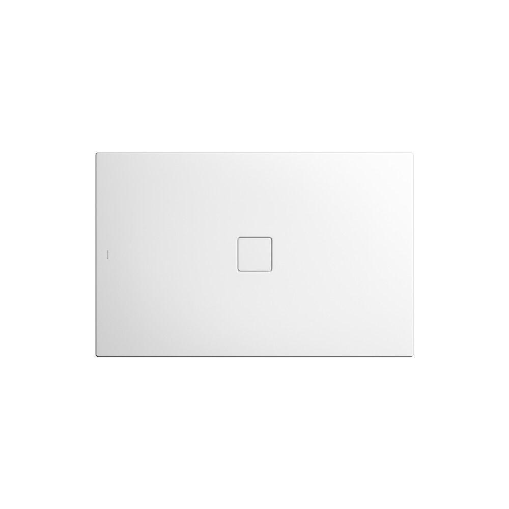 Kaldewei CONOFLAT Rechteck-Duschwanne 867-1 L:100xB:180cm schwarz matt 100 mit Perl-Effekt 468400012676