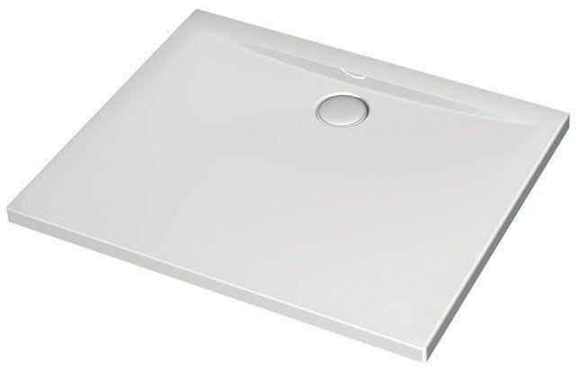 Ideal Standard Rechteck-Duschwanne Ultra Flat weiß H:130 B:800 L: 900 bodeneben K162401