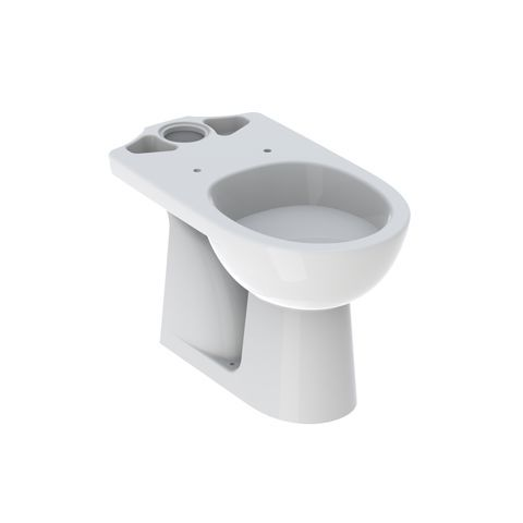 Geberit Keramag Renova Tiefspül-Stand-WC für Kombination, Abgang senkrecht weiß mit KeraTect 203821600