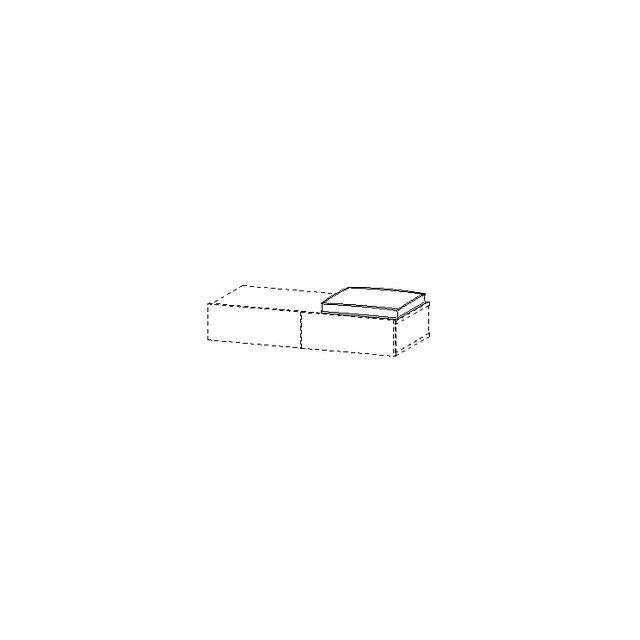 Duravit DuraStyle Sitzkissen 400x400mm für Schubkastenablage weiß DS993800000