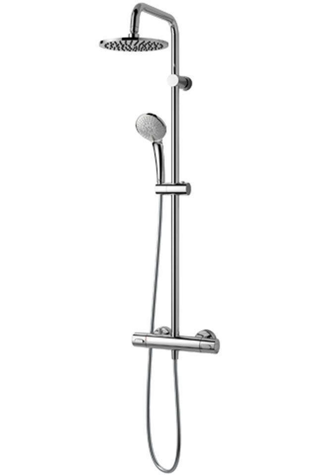 Ideal Standard Duschsystem Idealrain chrom H:1051 Ø: 200 Ausladung: 307 A5686AA