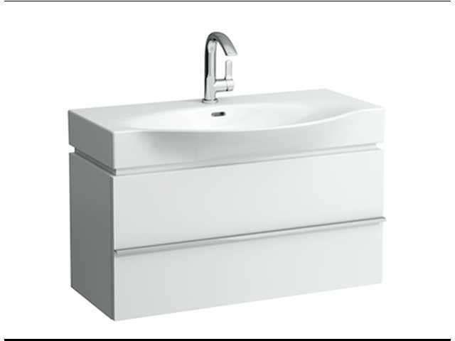 Laufen Case for Palace Waschtischunterschrank B:89,5cm T:37,5cm H:46cm 1 Schublade weiß matt H4012510754631
