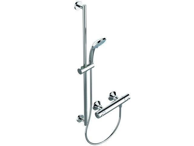 Ideal Standard Ceratherm 60 Duschsysteme Aufputz Ausladung 82 mm Aufputz chrom A6649AA
