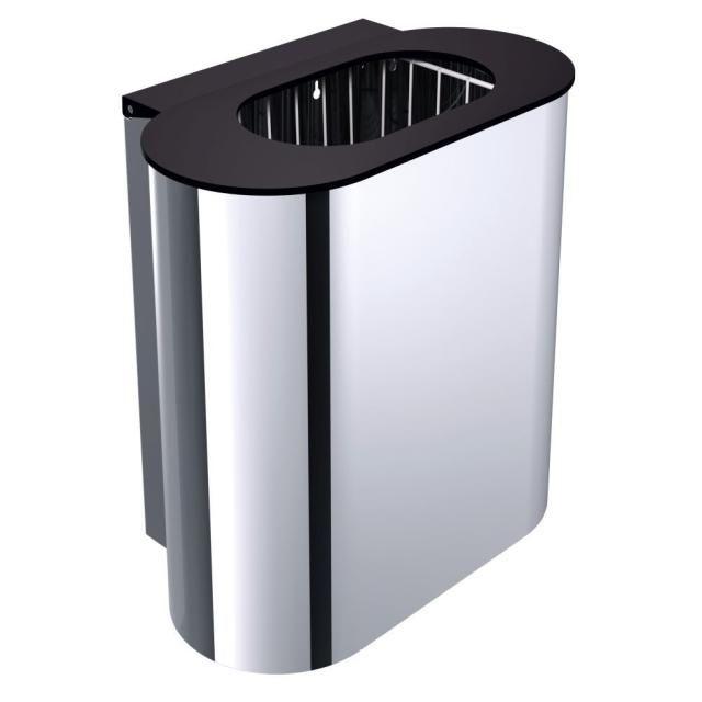 Emco System 2 Abfallbehälter 355300102, edelstahl-optik
