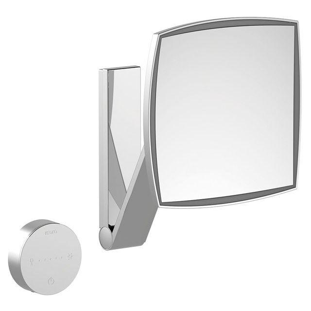 Keuco iLook-move Kosmetikspiegel rechteckig mit UP-Kabelführung 17613019002