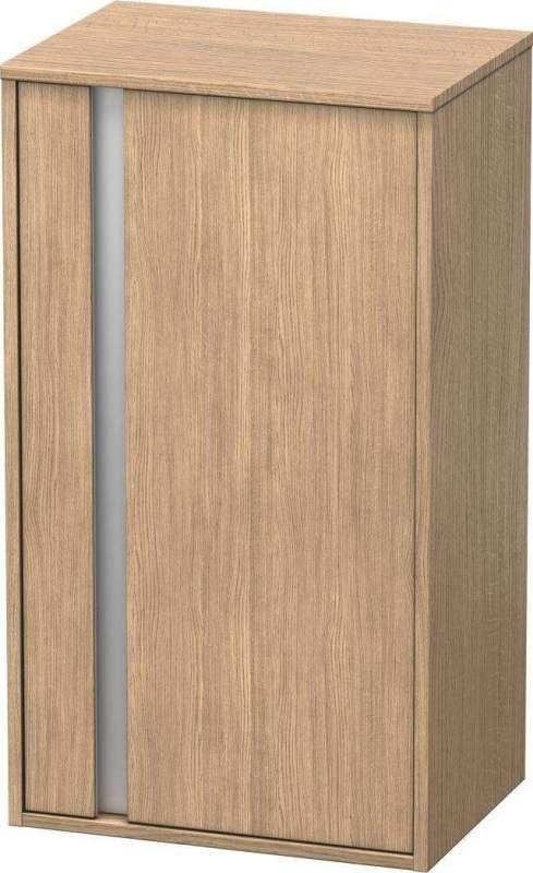 Duravit Ketho Halbhochschrank B:50xH:88xT:36cm 1 Tür Türanschlag rechts europäische eiche KT1266R5252