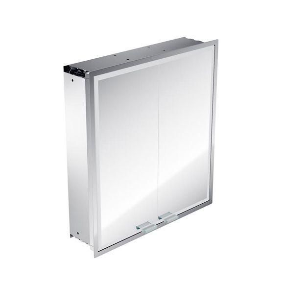 Emco asis prestige Lichtspiegelschrank ohne Radio 989706016, Unterputz, Breite 615 mm