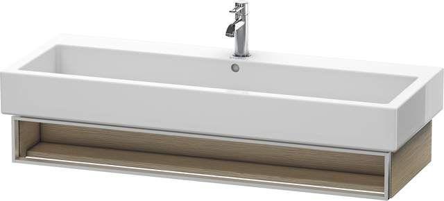 Duravit Vero Waschtischunterschrank wandhängend für 045412 B:115xH:15,5xT:43,1cm 1 Fach eiche gebürstet VE600801212