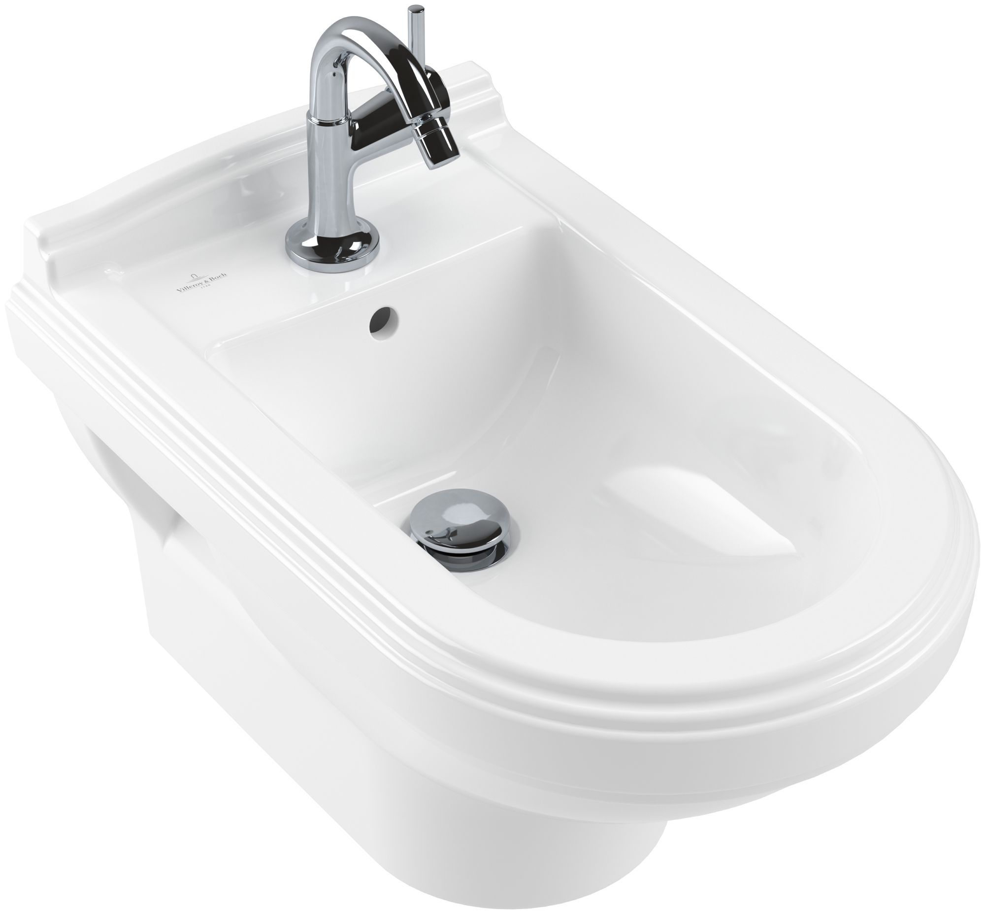 Villeroy & Boch Hommage Bidet starwhite ceramicplus 7441B0R2