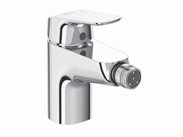 Ideal Standard Ceraflex Bidetarmaturen mit Ablaufgarnitur mit Ablaufgarnitur Starrer Gussauslauf Ausladung 114 mm chrom B1718AA