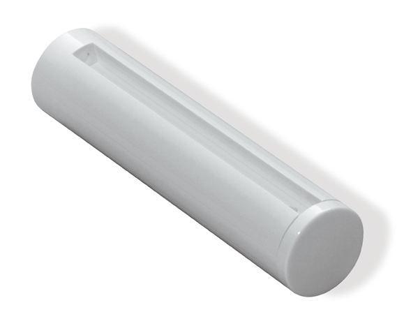 HEWI Glasplattenhalter Serie 477 für 8mm-Glasplatten Tiefschwarz 477.03.500 90