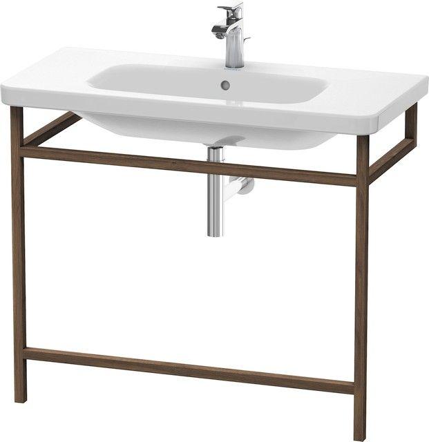 Duravit DuraStyle Möbel-Accessoire Handtuchhalter B:94xH:80,5xT:44 cm amerikanischer nussbaum massiv DS989307777