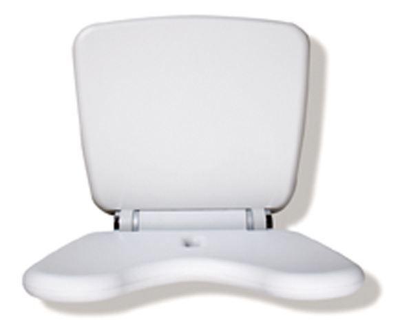 HEWI Klappsitz Komfort LifeSystem Sitz Lichtgrau 802.51.21097