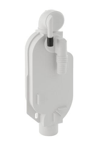 Geberit Unterputz-Geruchsverschluss für Waschmaschine und Trockner mit Wandeinbaukasten 240126001