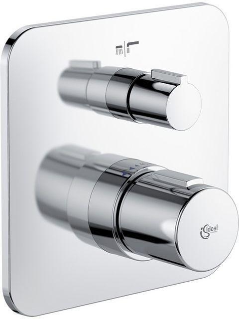 Ideal Standard TONIC II Badethermostat Unterputz Bausatz 2 eigensicher gemäß DIN EN 1717 chrom A6346AA