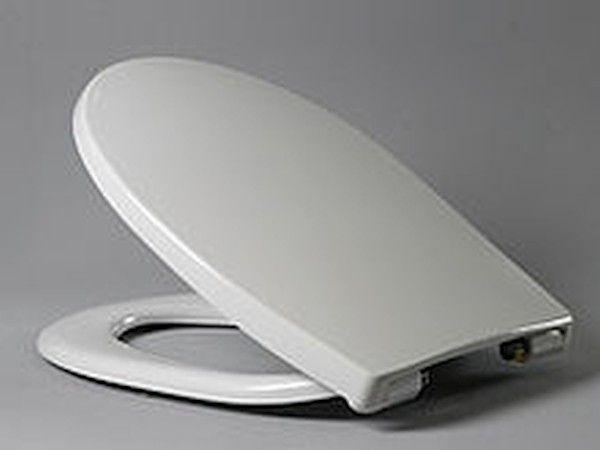 Hamberger Passat WC-Sitz weiß mit Absenkautomatik SoftClose Premium 512131