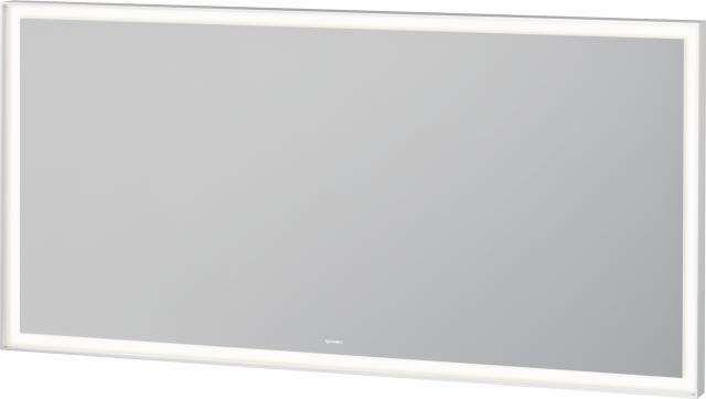 Duravit L-Cube Spiegel mit Beleuchtung B:140xH:70xT:6,7cm weiß matt gepulvert LC738400000