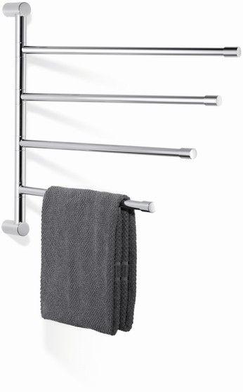 Giese Provider Vier Handtuchstangen schwenkbar verchromt 30832-02