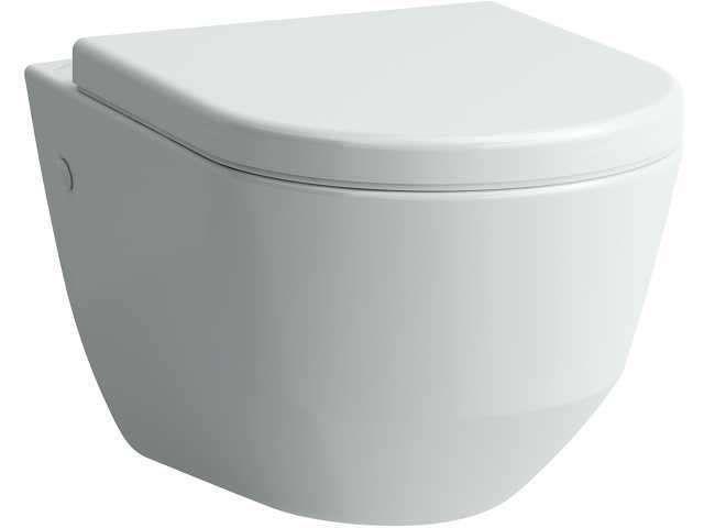 Laufen Pro Tiefspül-Wand-WC L:53xB:36cm weiß H8209560000001