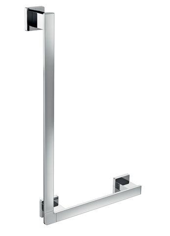 Emco loft Winkelgriff rechts 90 Grad inkl Befestigungsmat chrom 057000107