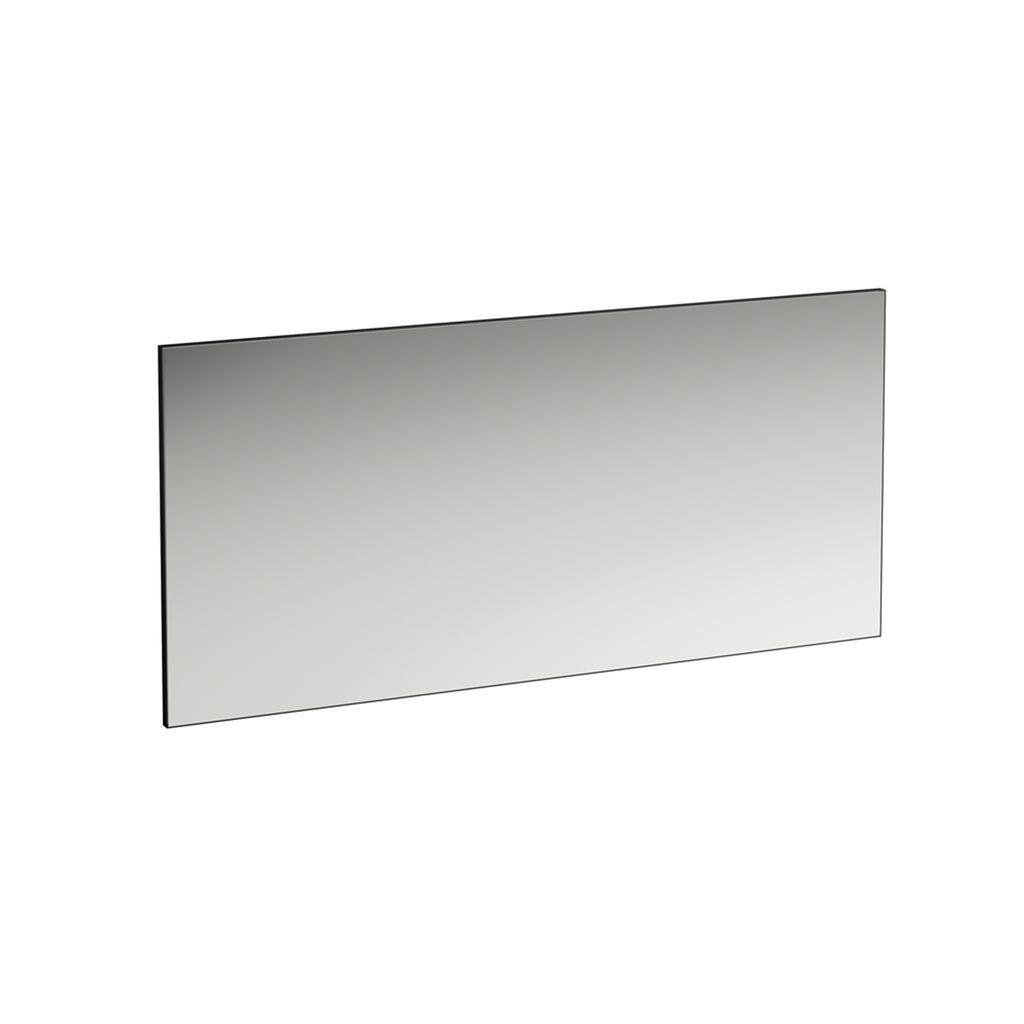 Laufen Spiegel Frame 25 1500x25x700 mit Aluminiumrahmen schwarz matt H4474099004501