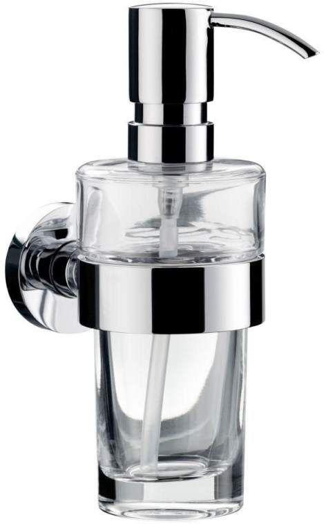 Emco Eposa Flüssigseifenspender 082100101, Glas durcht., chrom